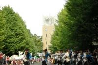 地球感謝祭2009で踊る若者