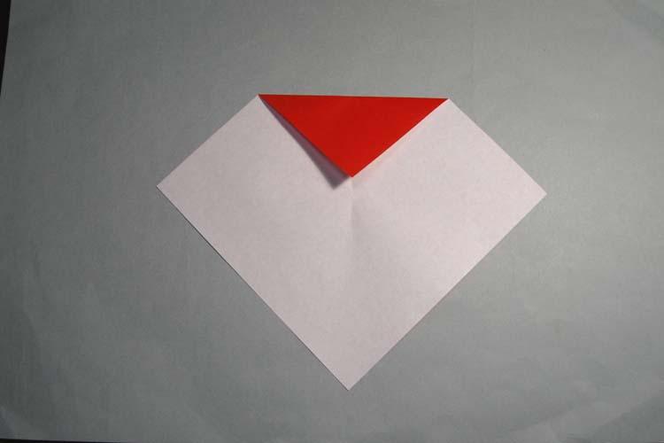 ハート 折り紙 サンタクロース折り紙折り方 : blog.kogayabungu.jp