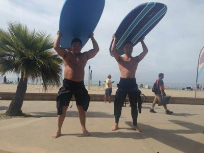 サーフィンの聖地:マリブ01
