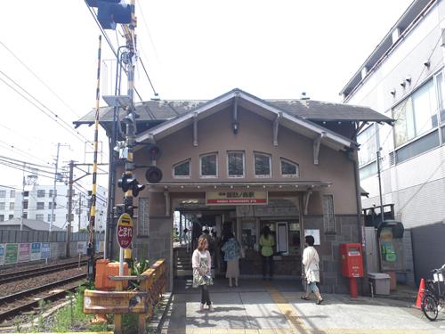 諏訪ノ森西駅舎
