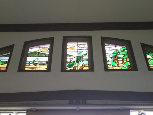 ステンドガラスの詳細