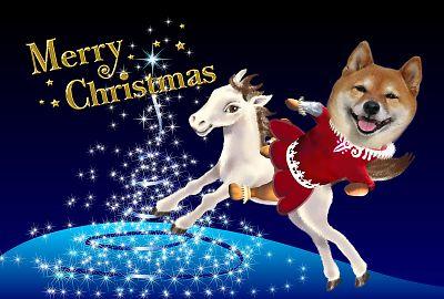 はなちゃんのクリスマスカード1