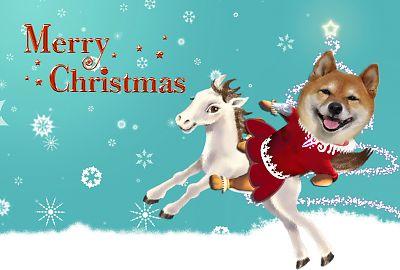 はなちゃんのクリスマスカード2