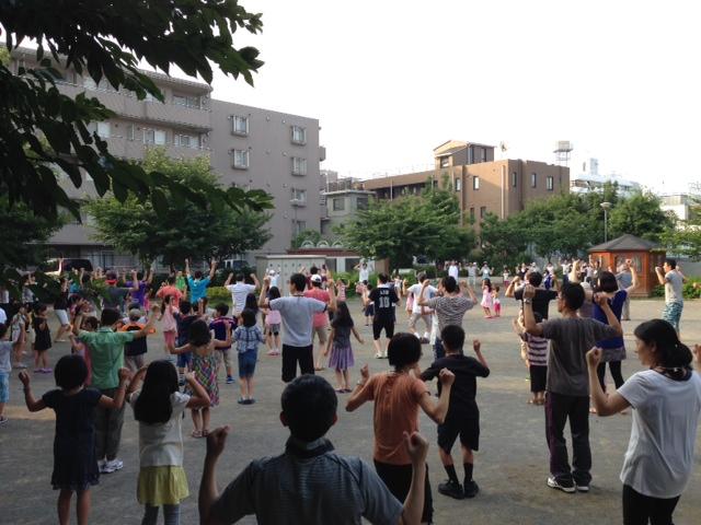 染井よしの町会ラジオ体操