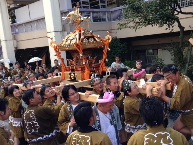 染井よしの町会 祭り