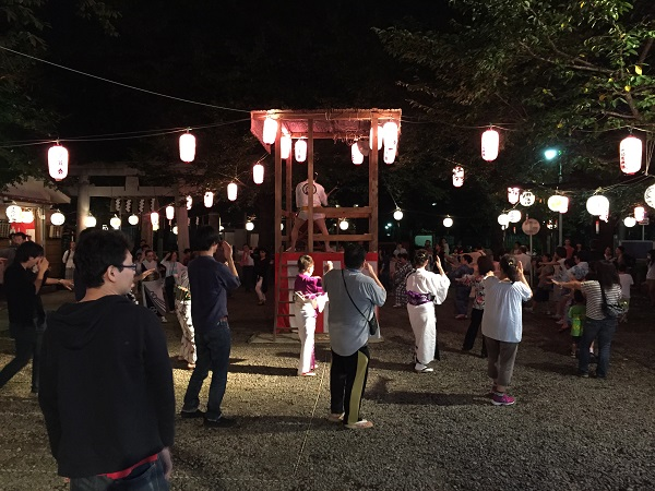 染井よしの町会奉納踊り