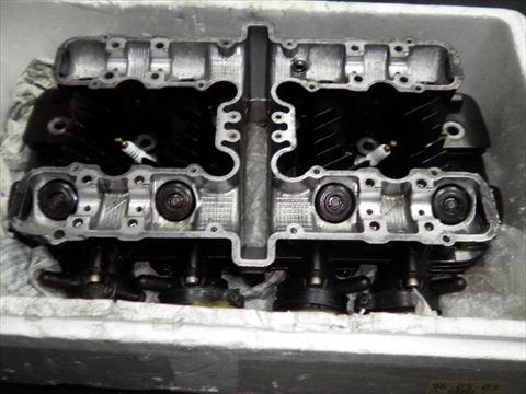 Z1 シリンダーヘッド割れ溶接修理!