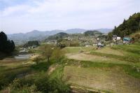 「悠々」から見た泰阜村風景