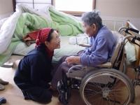 90歳Kさん自走式車椅子試乗
