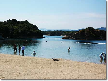次郎六郎海水浴場1