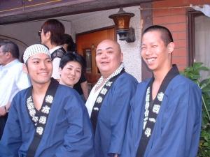 浅草三社祭にて
