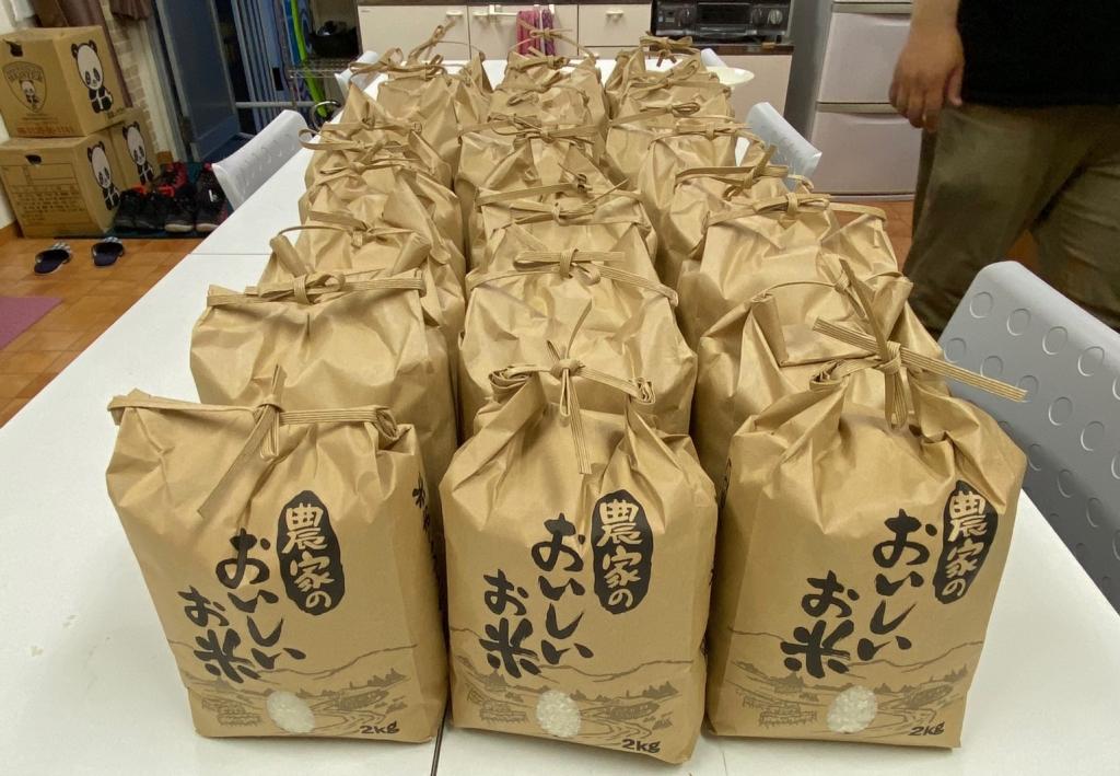 ゆくはしこども食堂⭐お米配布プロジェクト