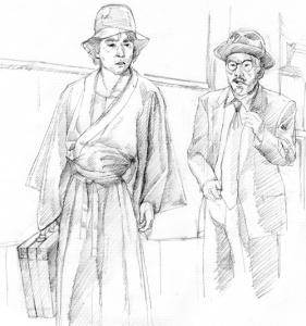 石坂浩二&小沢栄太郎