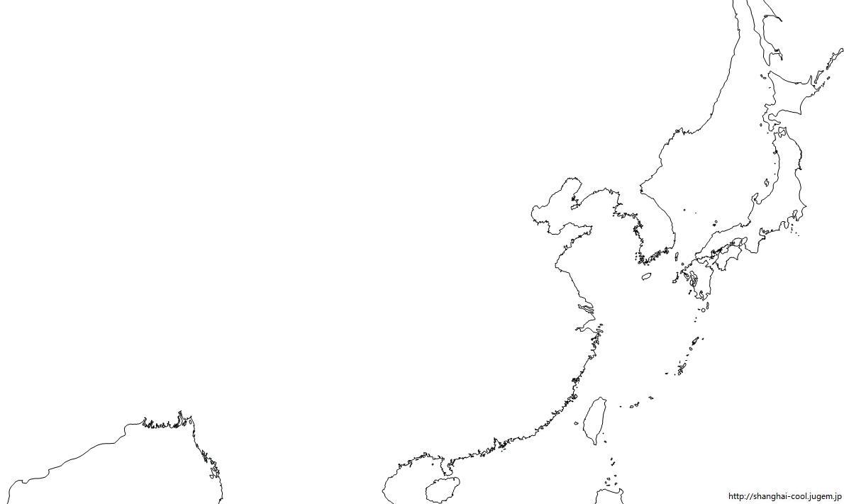 日本地図 白地図 河川 : 日本地図 白地図 河川 : 日本