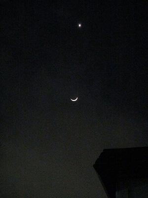 20120326月と金星