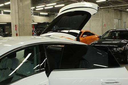 Audi A7 フィルム施工後