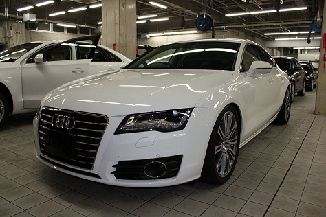 Audi A7 ボディー