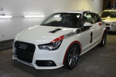 Audi A1 フロント
