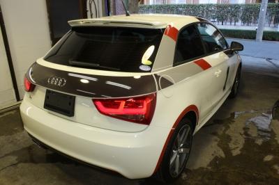 Audi A1 リア