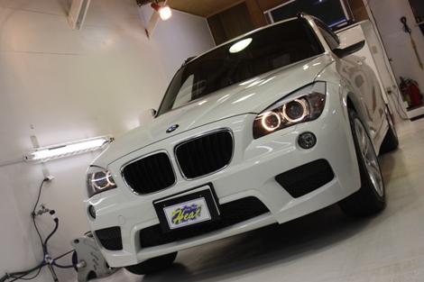 BMW X1 フロント01