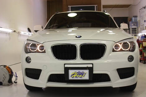 BMW X1 フロント02