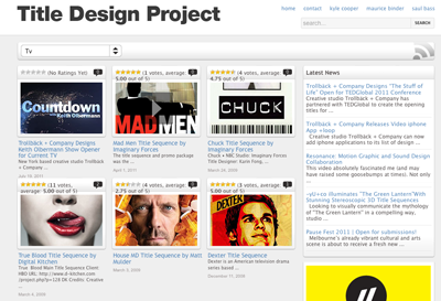 TitleDesignProject