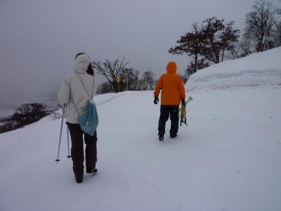 雪山トレッキング下見1