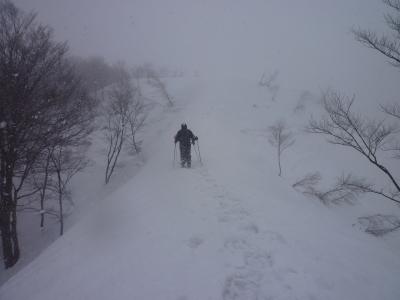 雪山トレッキング下見4