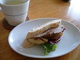 イベリコ豚のサンドウィチ