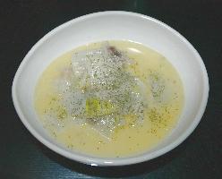 クリーム煮鶏