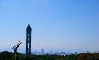 名古屋を望む