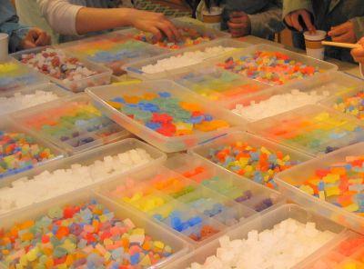 キャンドル作り体験
