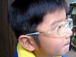 子供用花粉防止グラス メガネ