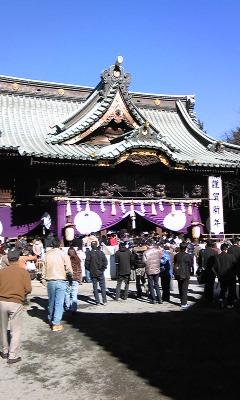 三嶋大社初詣