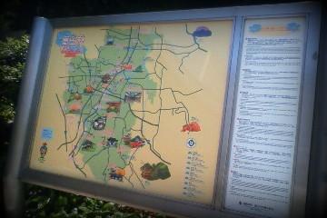富田林観光マップ