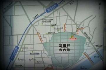 寺内町地図