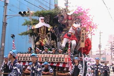 盛岡秋祭り1