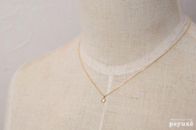 ローズカット・ダイアモンドのネックレス