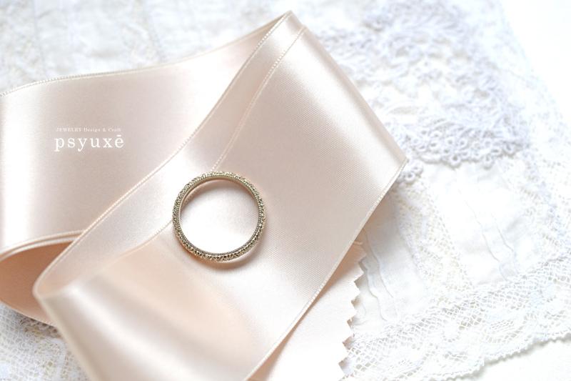 K18シャンパンゴールドの結婚指輪