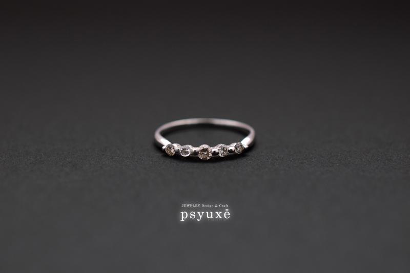 お客様がお手持ちだった指輪です。