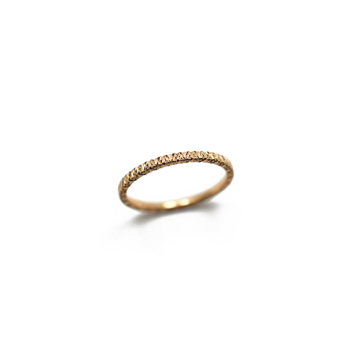 psyuxe Giorni Filo K18PG Marriage Ring