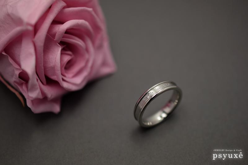 ご結婚20周年記念のプラチナダイアモンドリング