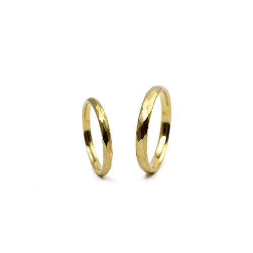 K18イエローゴールド・マリッジリング(結婚指輪)