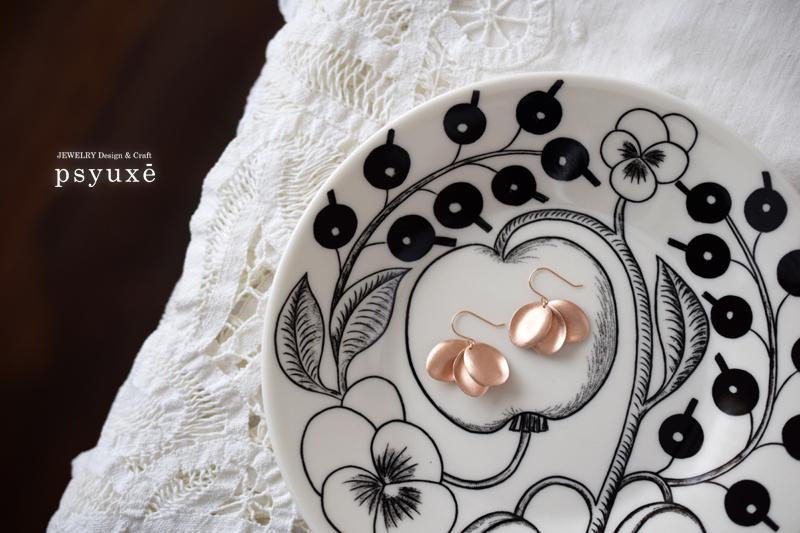 Winter Rose(ウィンターローズ)K10ピンクゴールド・ピアス
