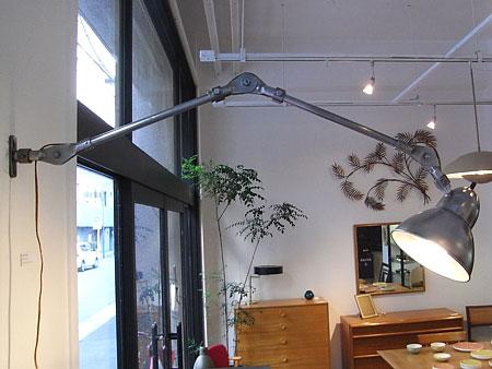 ヴィンテージ インダストリアル アトリエ ワーク ランプ