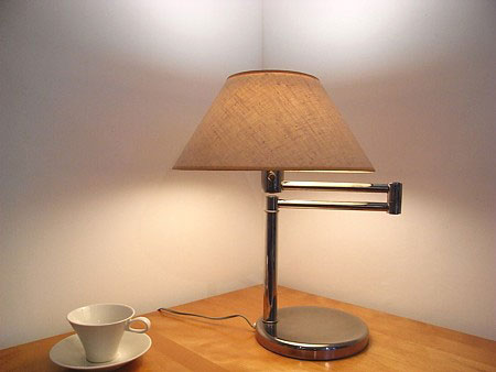 Nessen Swing Arm Table Lamp