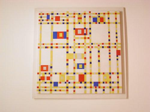 Piet Mondrian:Broadway Boogie Woogie 1942-43