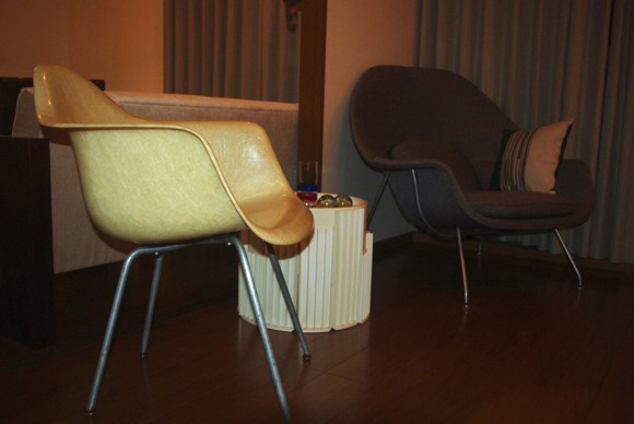 Eames Zenith Arm chair,Saarinen Womb Chair