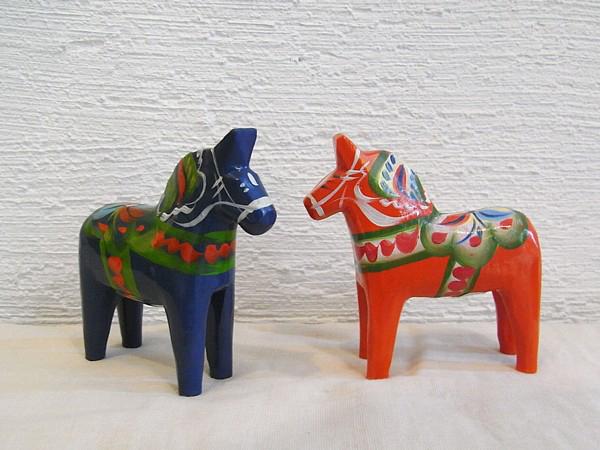 dala horses ダーナラホース
