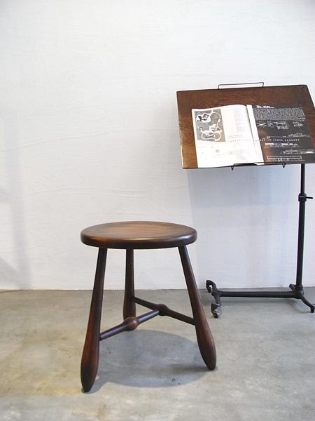 Vintage wood stool